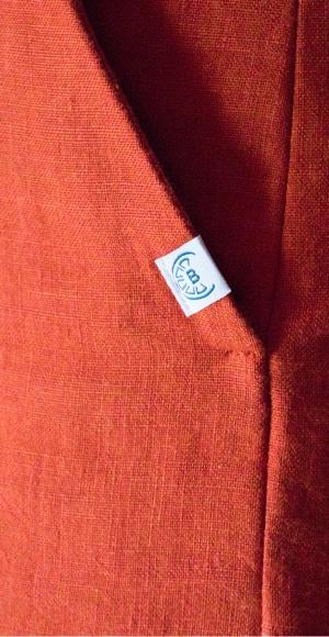 Pantalon en lin de qualité - Poche italienne