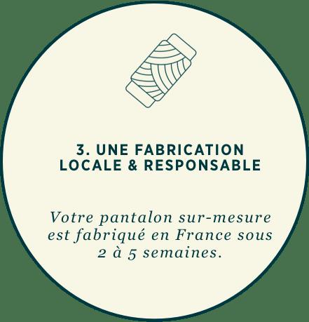 3. Pantalon fabriqué en France