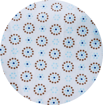 Doublure en coton biologique du pantalon en velours de coton bio gris