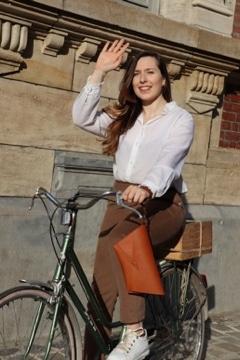 Une idée de tenue pour la rentrée à vélo