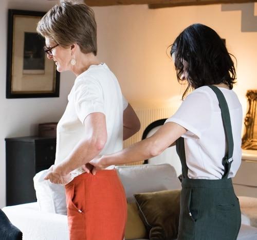 Conseils personnalisés pour composer son pantalon sur-mesure