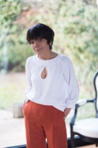Pantalon élégant femme - Coupe large en lin