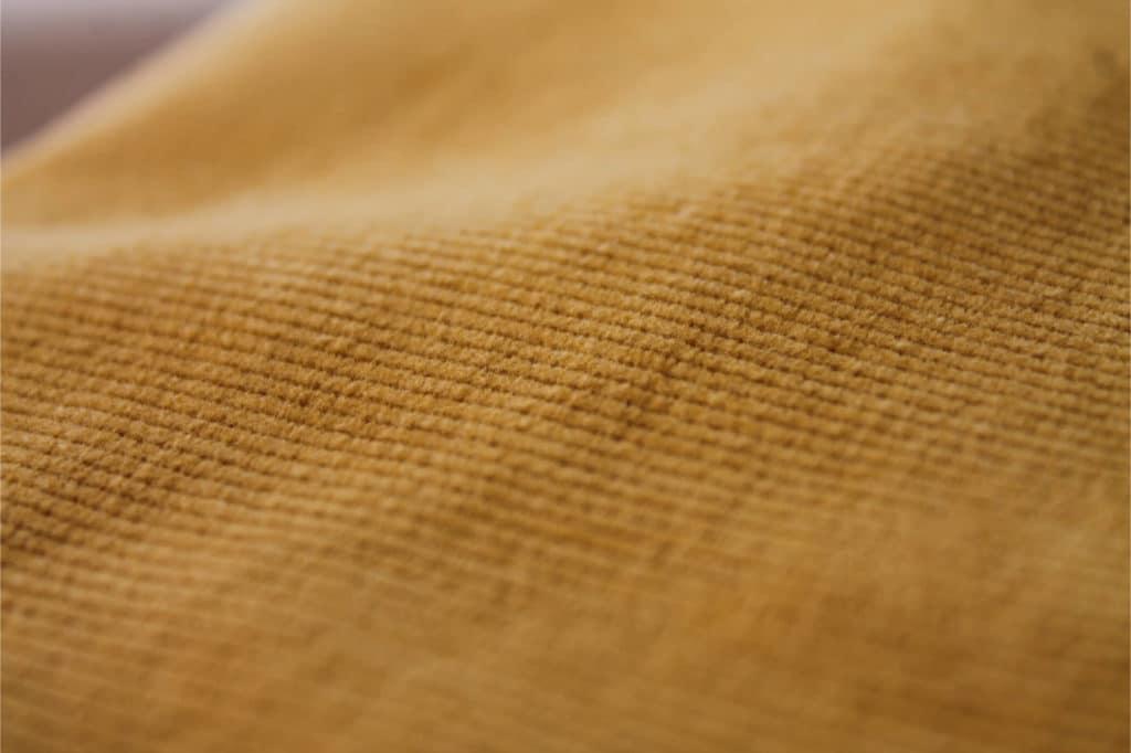 Pantalon écologique en matières naturelles - Velours de coton bio
