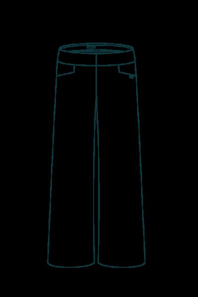 Le Remarquable - Croquis Pantalon large