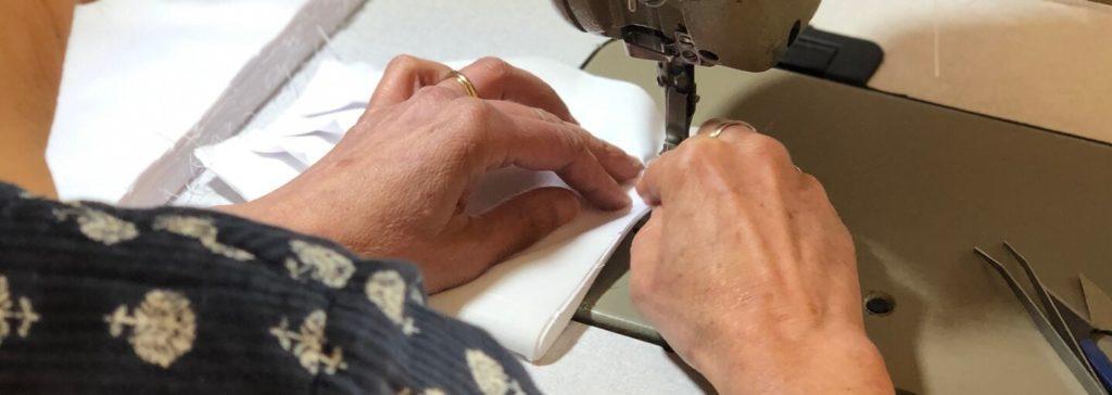 Pantalon fabriqué en France - Photo de l'Atelier Lyonnais