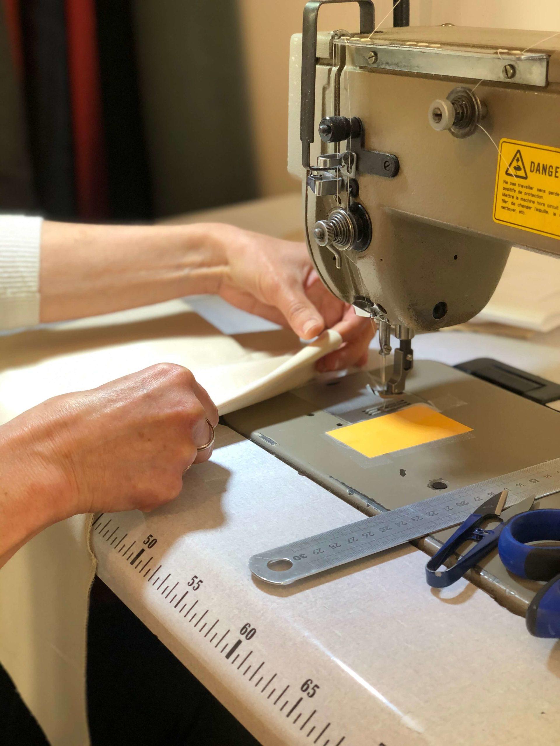 Pantalon fabriqué en France - Photo de l'atelier