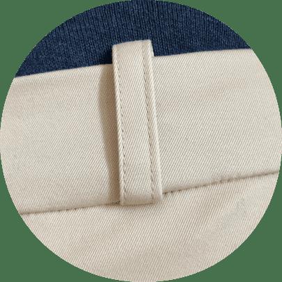 Passants de ceinture - Coton Sable