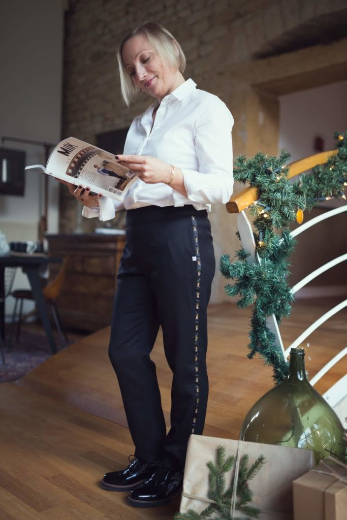 Portrait de Christèle - Les carnets d'une quadra en pantalon (1)