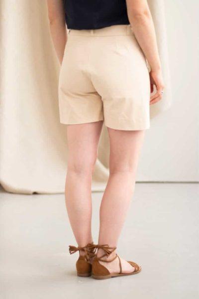 Irresistible - Short en Coton beige 2