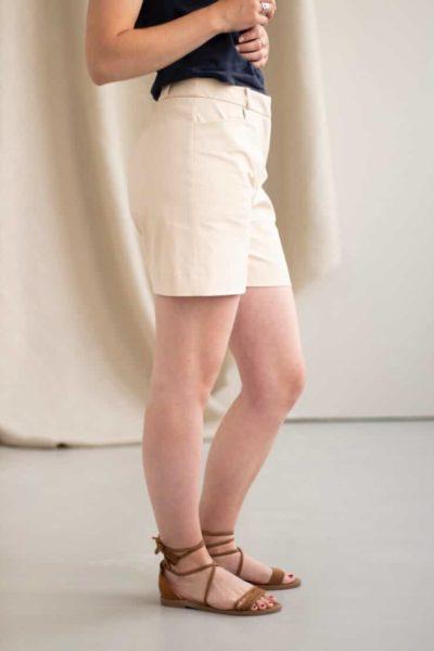 Irresistible - Short en Coton beige 3