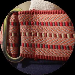 Détail tissage français ceinture