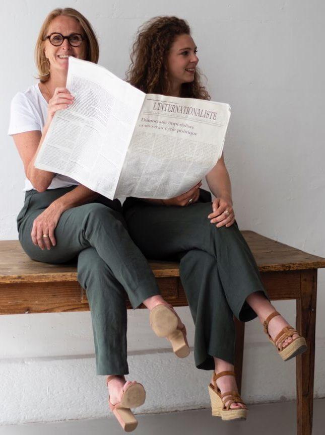 Inscription Newsletter C.Bergamia - Pantalon femme Made in France