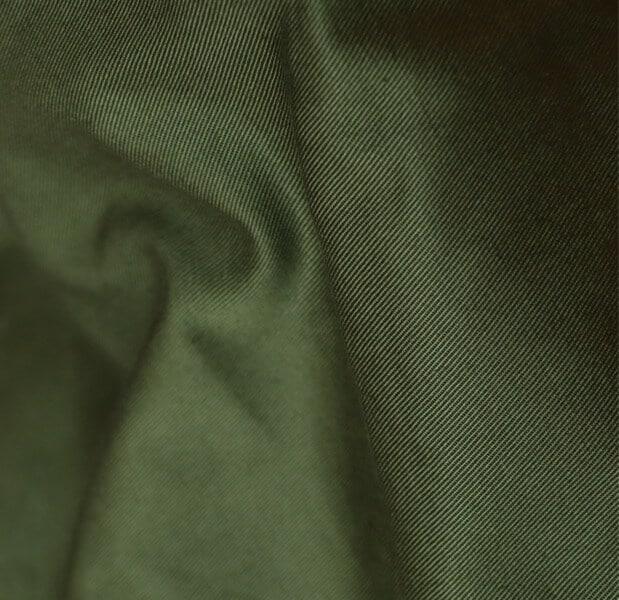 Gabardine en coton biologique - Couleur Olive