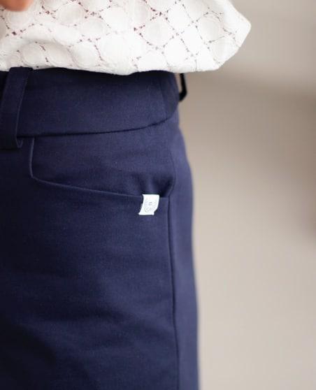De grandes poches pour des pantalons femmes