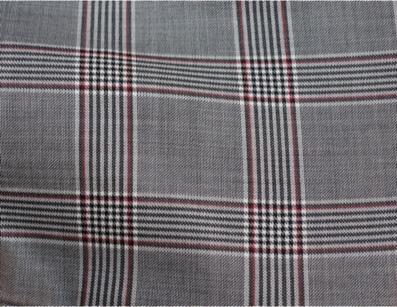 100% Laine - Motif Carreaux anglais - C.BERGAMIA - Choisir le tissu de son pantalon