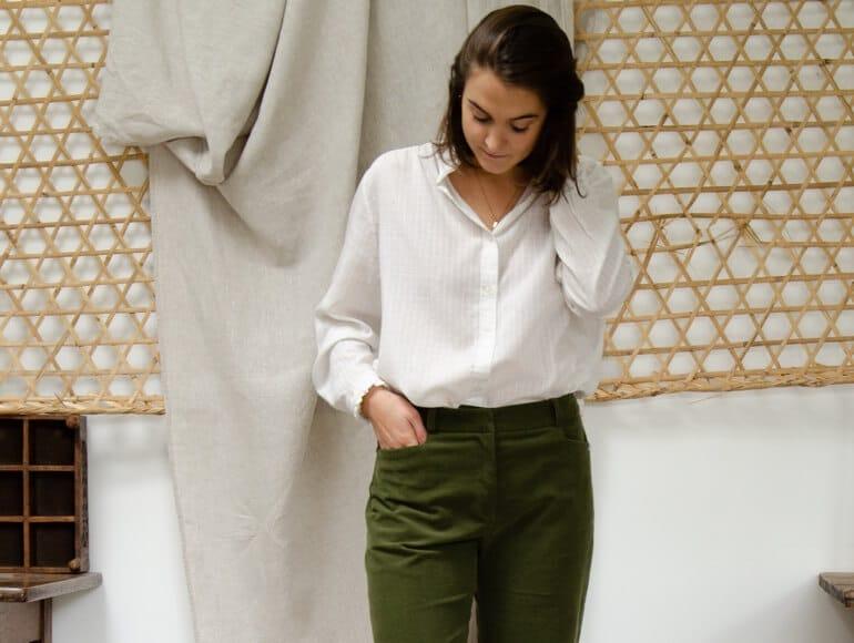 Entretenir un pantalon en velours côtelé