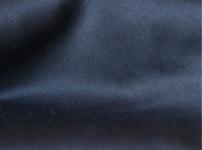 Gabardine de coton biologique GOTS - Bleu Marine