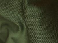 Gabardine de coton biologique GOTS - Vert