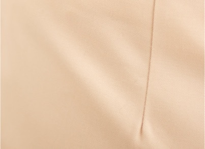 Gabardine de coton crème - C.BERGAMIA - Choisir le tissu de son pantalon
