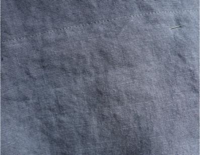 Lin des Flandres - Couleur Bleu ciel - C.BERGAMIA - Choisir le tissu de son pantalon
