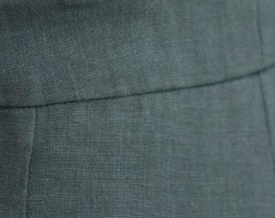 Lin des Flandres - Couleur Jade - C.BERGAMIA - Choisir le tissu de son pantalon