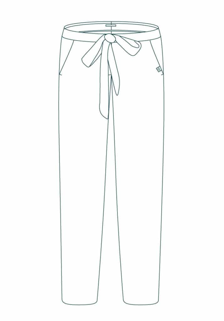 Croquis-Romantique---Pantalon-à-noeud-fluide